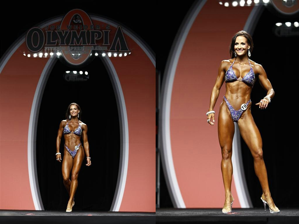 Erin Stern prima classificata al Figure Olympia 2012