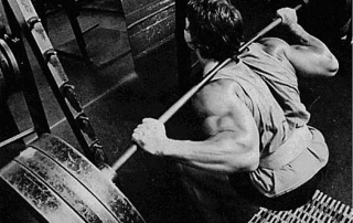 Arnold Schwarzenegger Squat