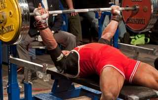 Power lifting : panca piana