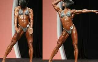 Dana Linn Bailey al Physique Professional 2013