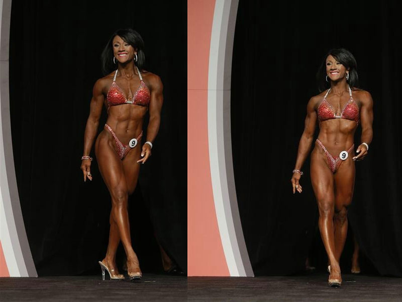 Tanji Johnson al Fitness Olympia 2013