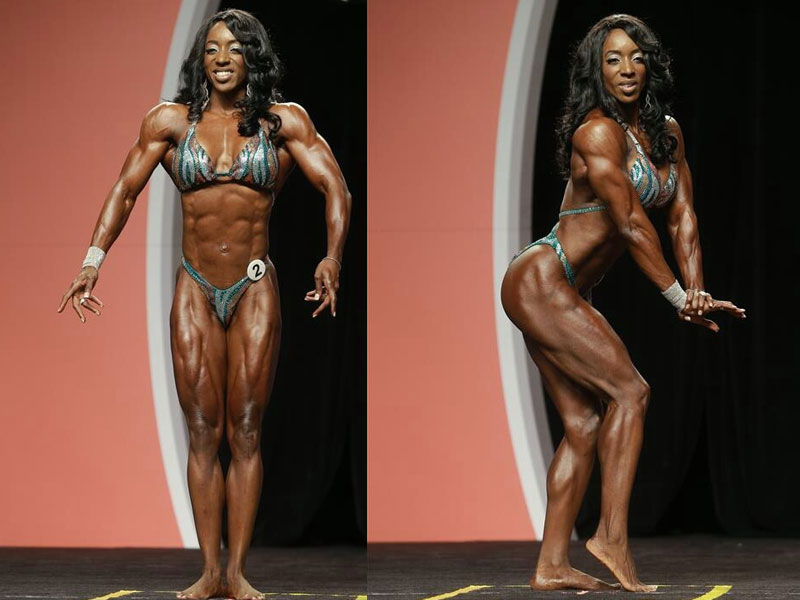 Tycie Coppett al Physique Professional 2013