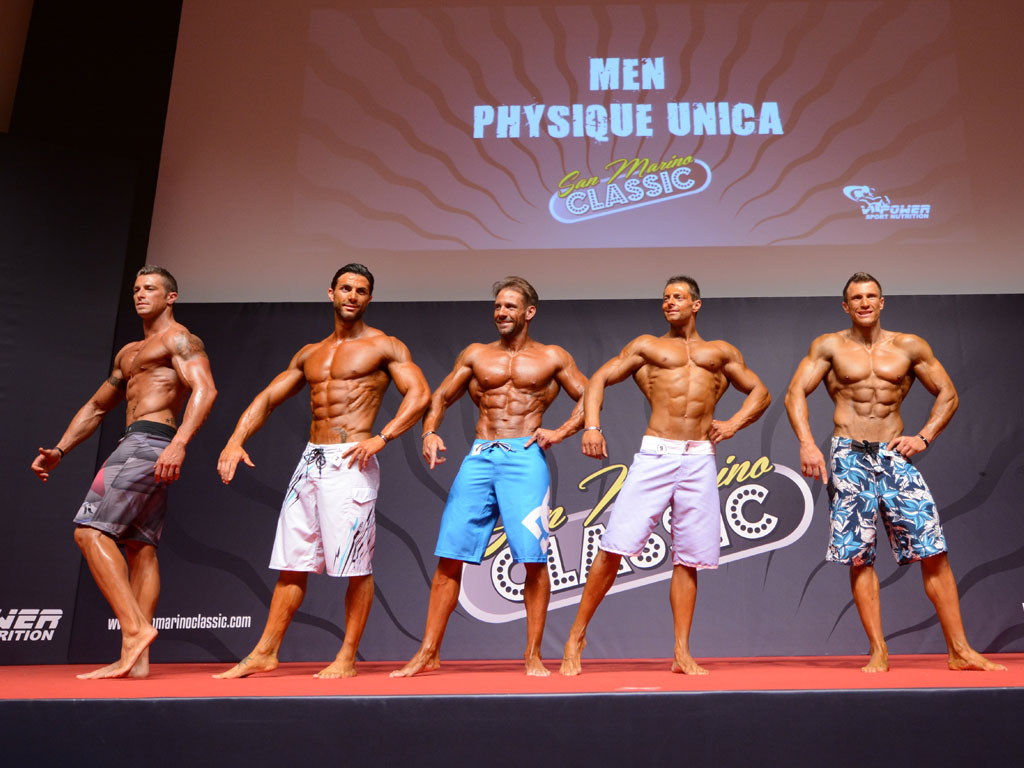 San Marino Classic 2013 - Men Physique