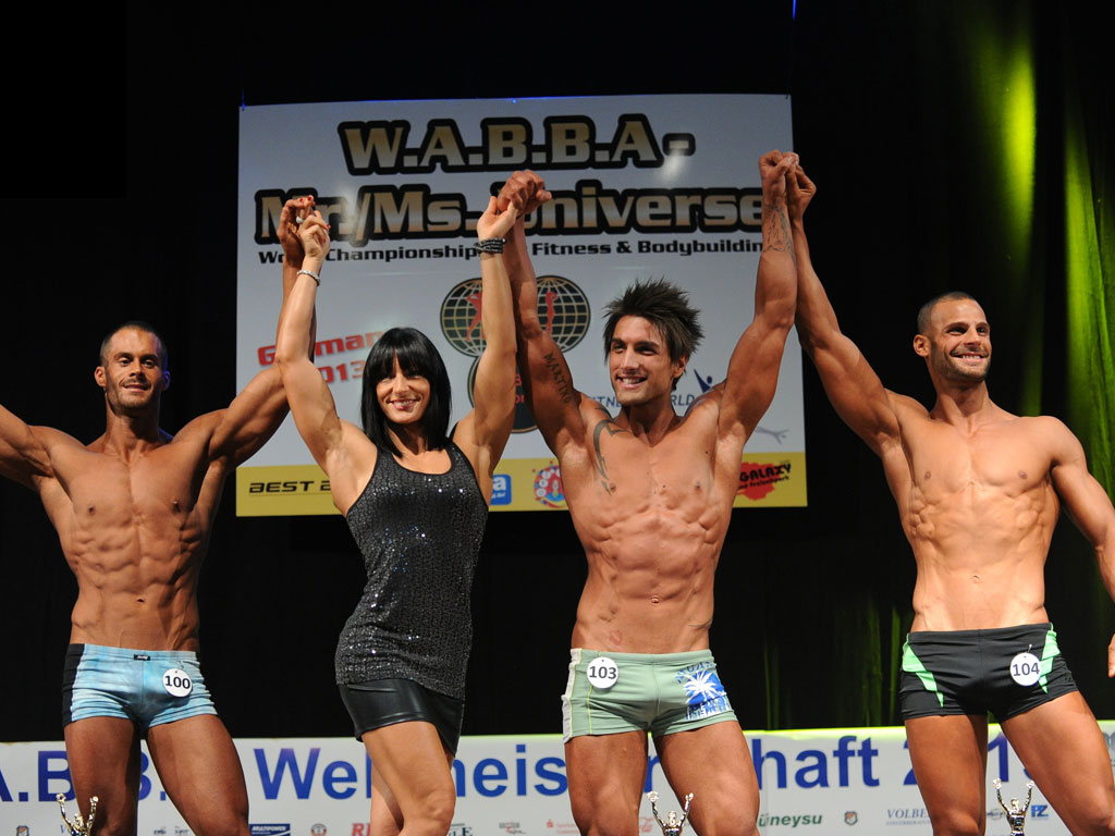 Mr Universo Wabba 2013 Men Model