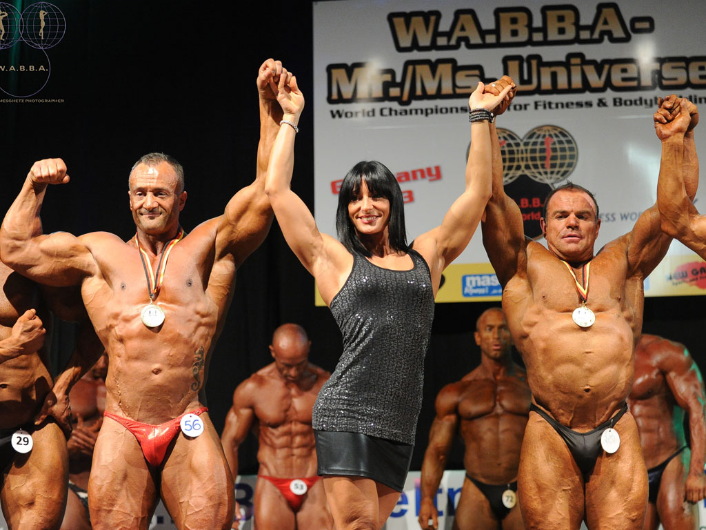 Mr Universo Wabba 2013 Over 40