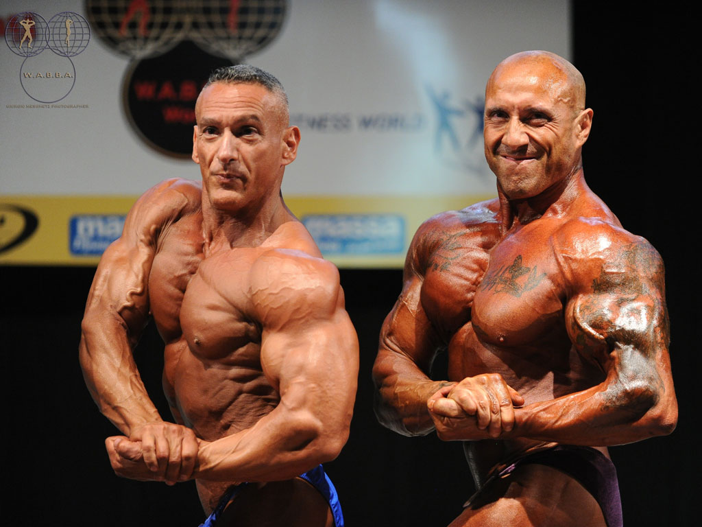 Mr Universo Wabba 2013 Over 50