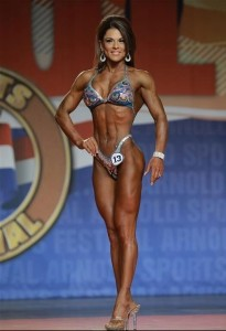Ann Titone Figure International 2014 - Arnold Classic 2014