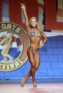 Bethany Cisternino all'Arnold Classic 2014 : Fitness International