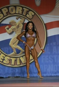 Candice Keene Figure International 2014 - Arnold Classic 2014