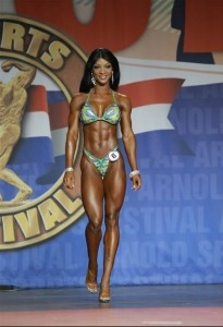 Candice Lewis Figure International 2014 - Arnold Classic 2014