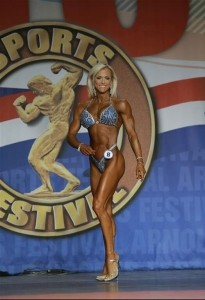 Gennifer Strobo Figure International 2014 - Arnold Classic 2014