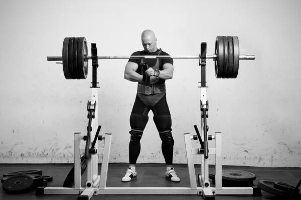 Squat per il Bill Starr 5x5