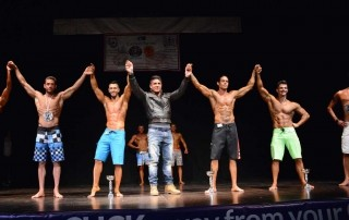 Wabba Urbe Maxima 2014 : Mr Model e Mr Fitness 2014