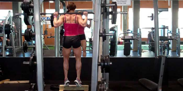 Standing Calf Raise al multipower