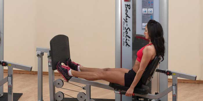 Varianti del Calf Raises : Calf Press