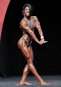 Dana Linn Bailey al Women's Physique 2014