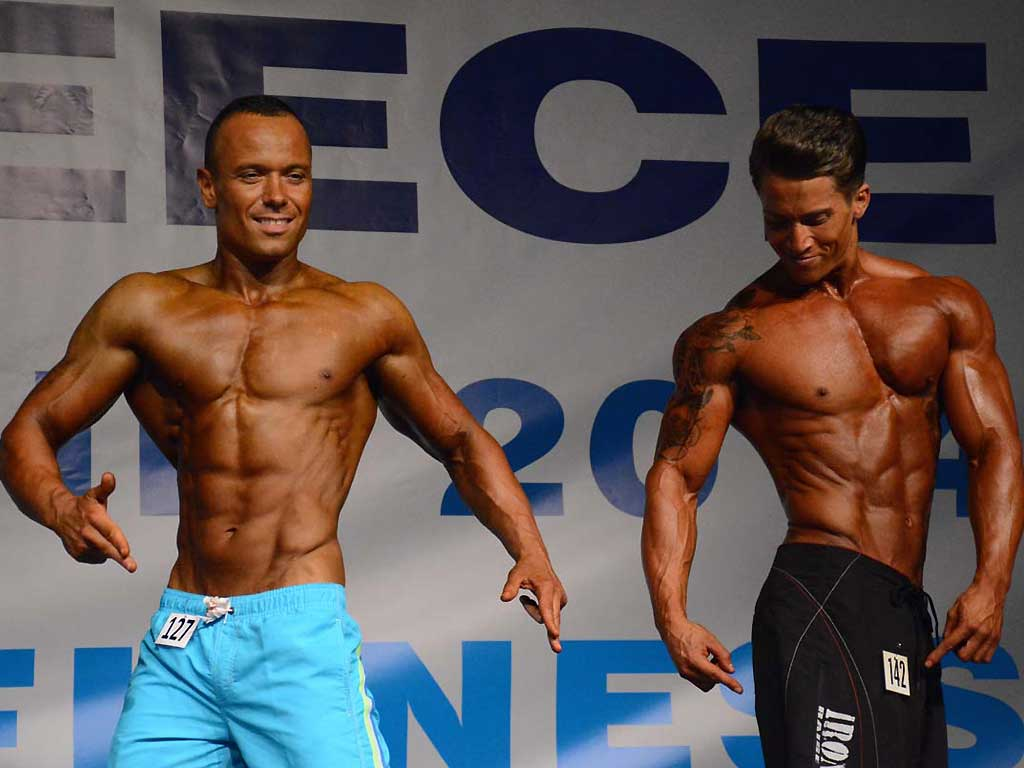 Mondiale Wabba 2014 Mr Model Fitness