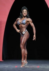 Myriam Capes al Fitness Olympia 2014