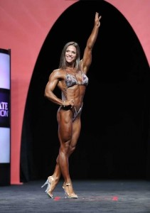 Oksana Grishina prima classificata al Fitness Olympia 2014