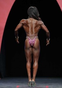 Tanji Johnson al Fitness Olympia 2014